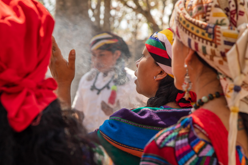 8 Batz Mayan Ceremony #4 - San Marcos La Laguna, Guatemala