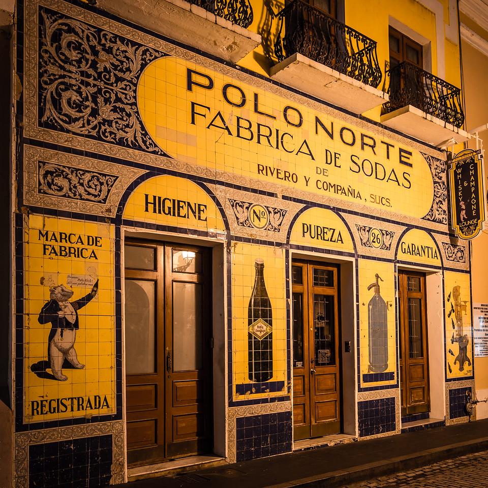 Soda Factory - Old San Juan, Puerto Rico