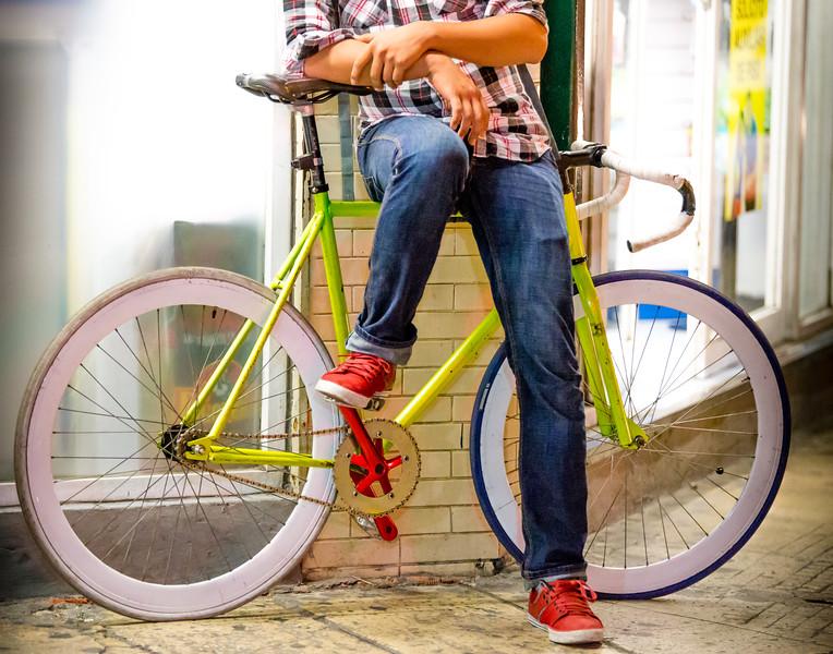 Biker - Campeche, Mexico
