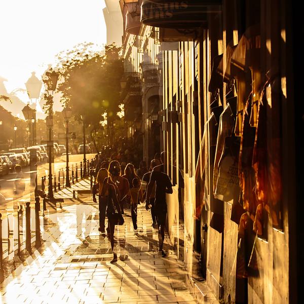 Sunlight Walk - Old San Juan, Puerto Rico