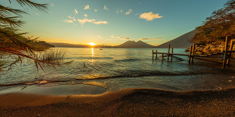 Lake Atitlan #1 (Pano)– San Marcos La Laguna, Guatemala