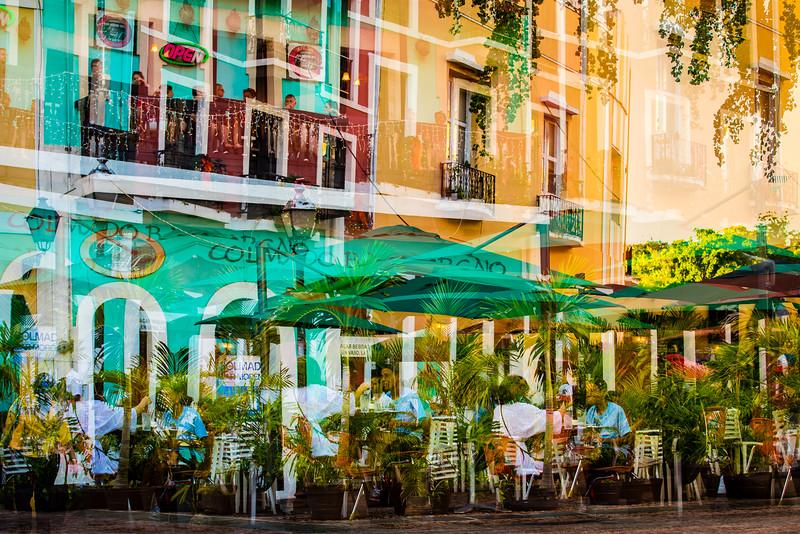 Cafe - Old San Juan, Puerto Rico