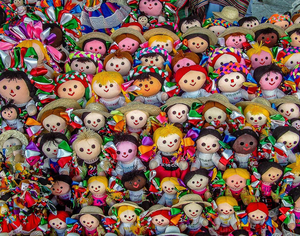 Las Muñecas (Dolls) - Guanajuato, Mexico
