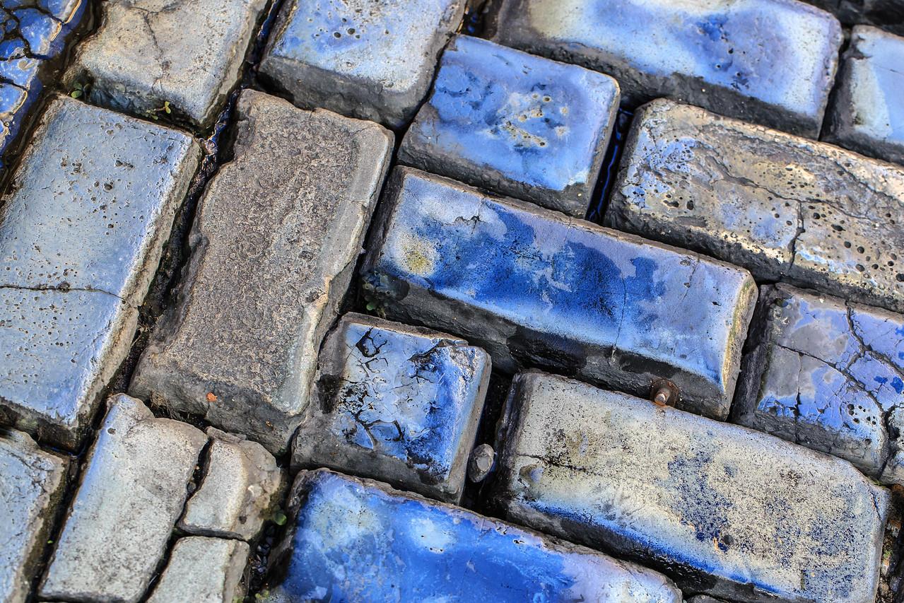 Adoquines #1  (Blueish Cobblestones) - Old San Juan, Puerto Rico
