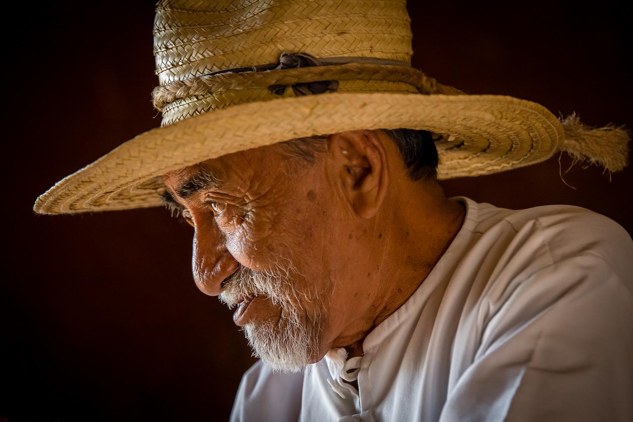 Mayan Man - Hacienda Soluta de Peon - Campeche, Mexico