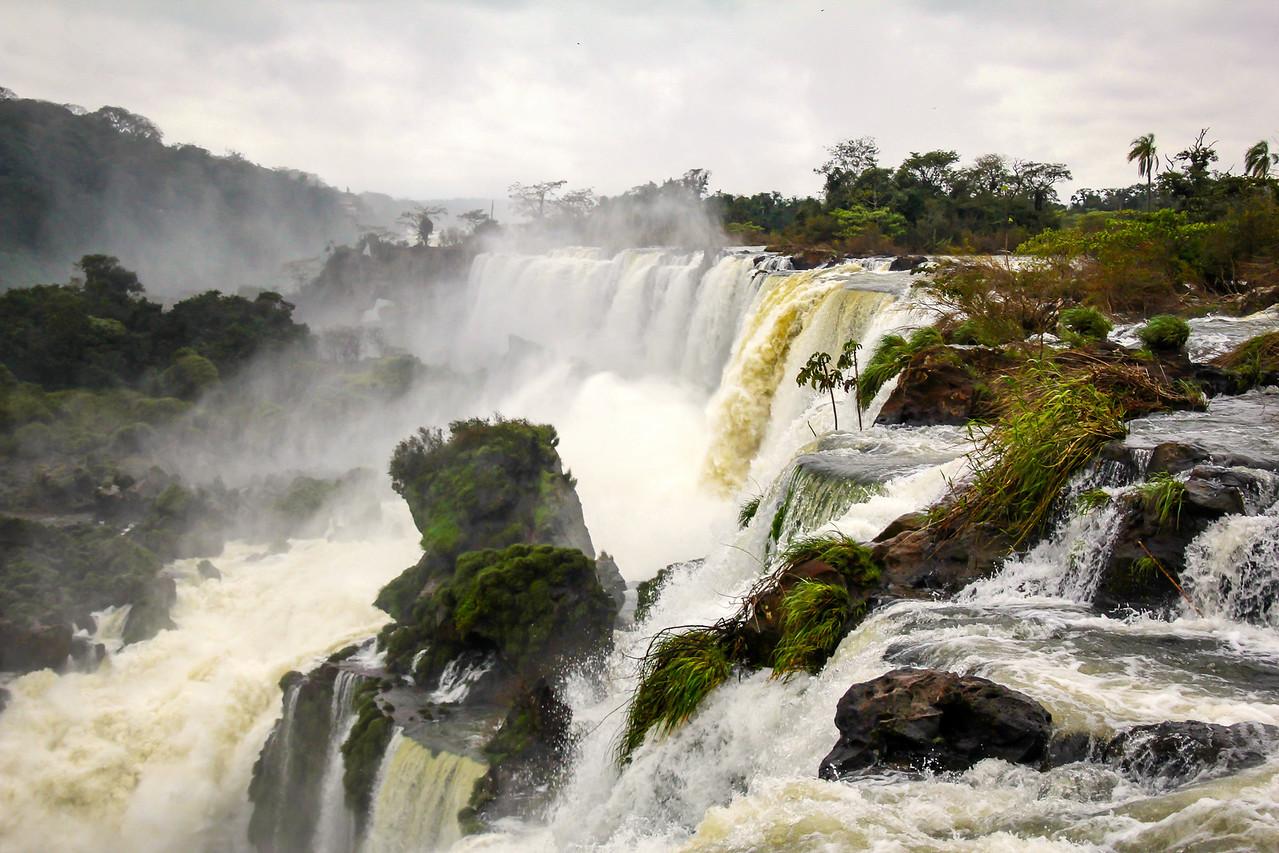 Iguazu Falls - Border of Argentina, Paraguay, Brazil
