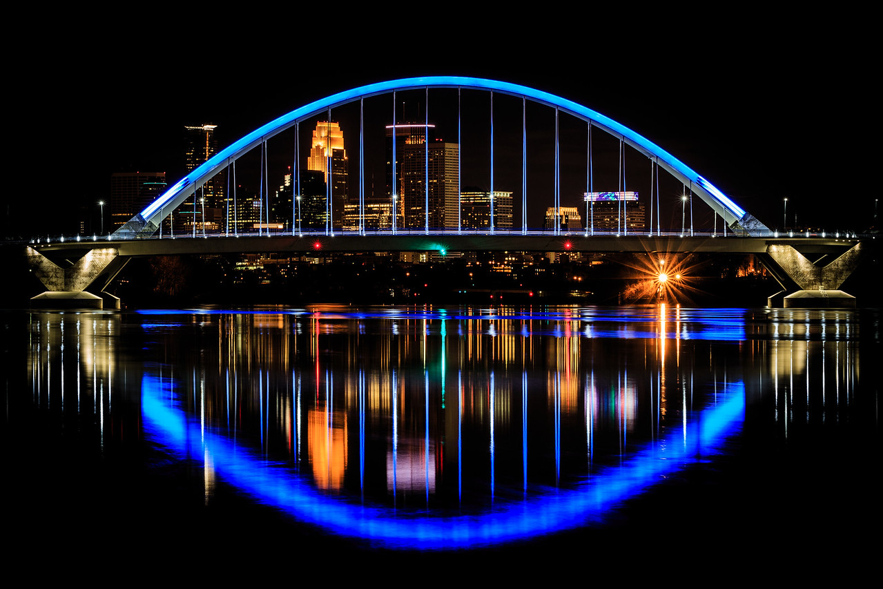 Lowry Ave. Bridge - Minneapolis, MN
