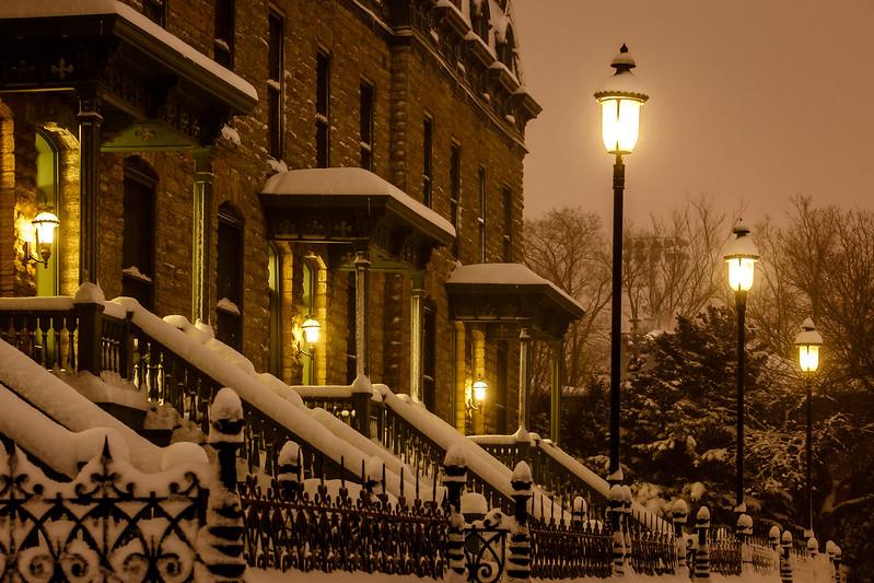 Row Houses on Nicollet Island - Minneapolis, MN