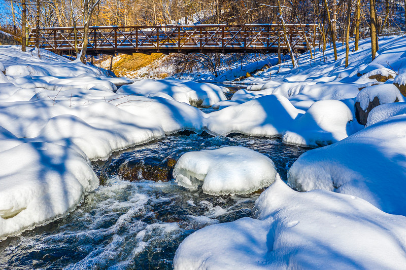 Snowy Bridge – Bloomington, MN