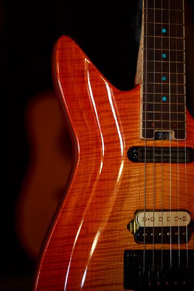 Fire Guitar - Studio 24, St. Paul, MN