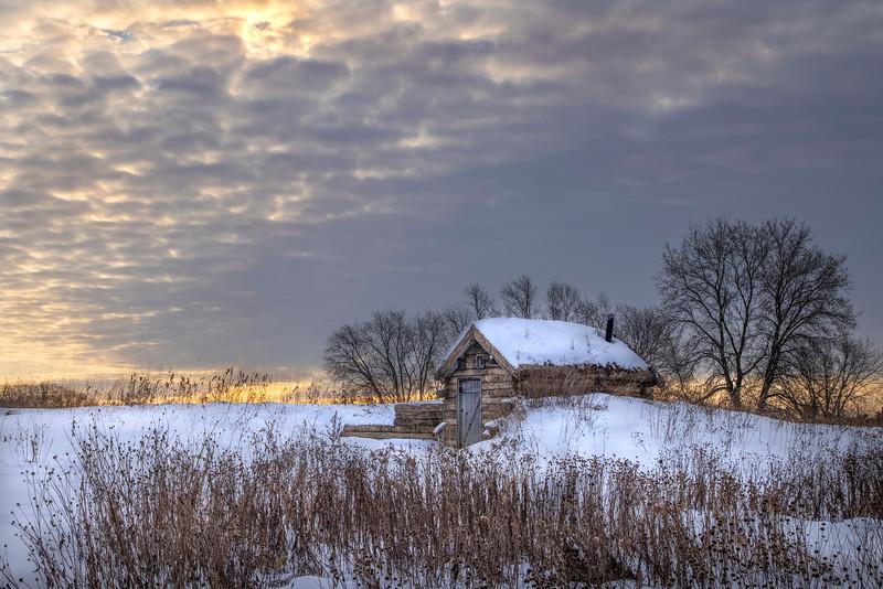 Snowy Soddy -  Gibbs Farm, St. Paul, MN