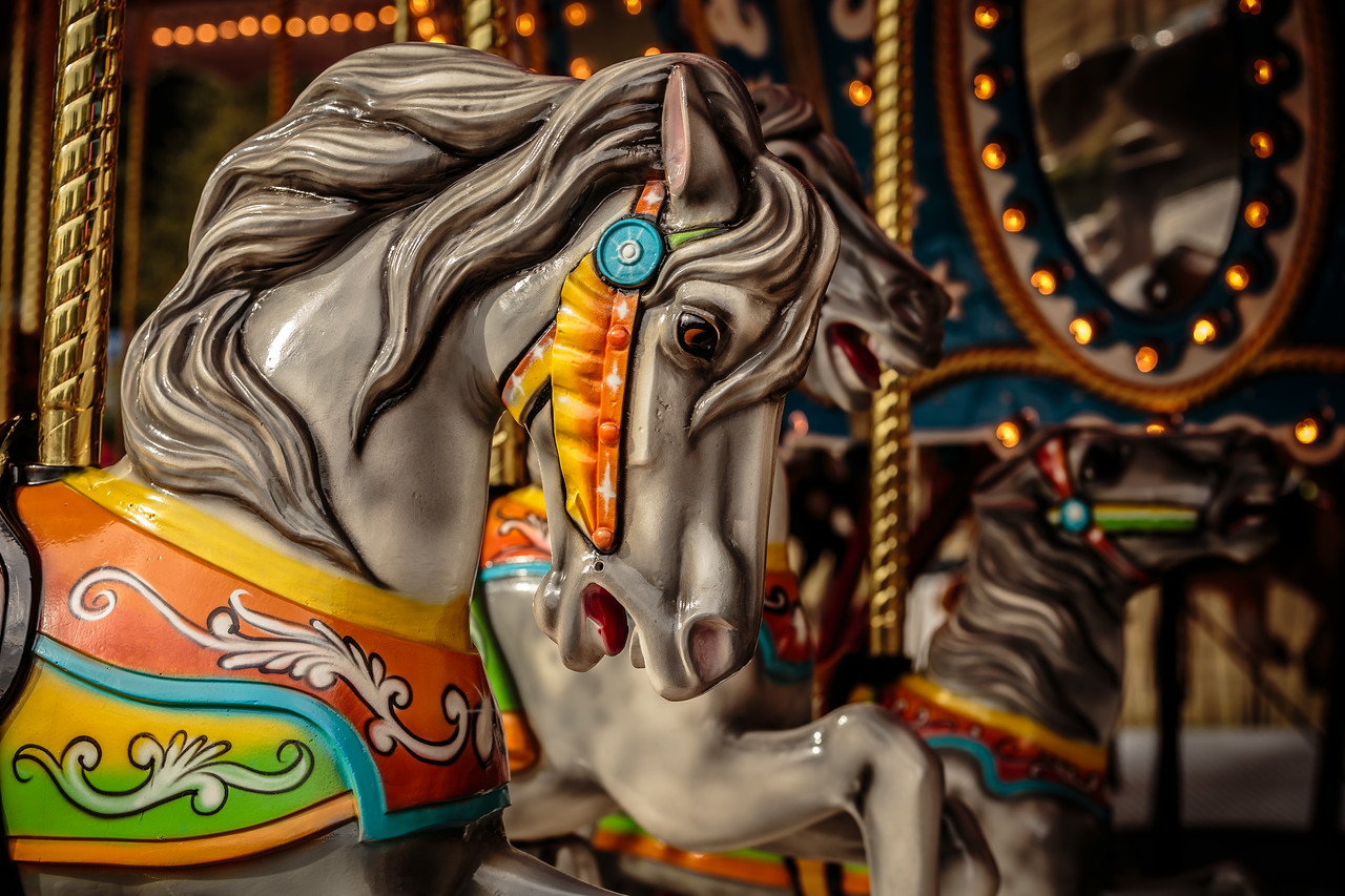 Minnesota State Fair Carousel Horse - St. Paul, MN