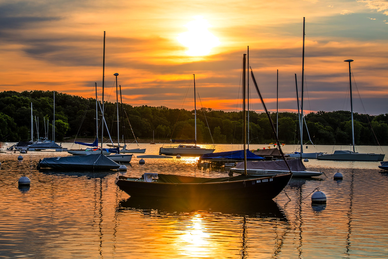 Lake Harriet  Sailboats - Minneapolis, MN