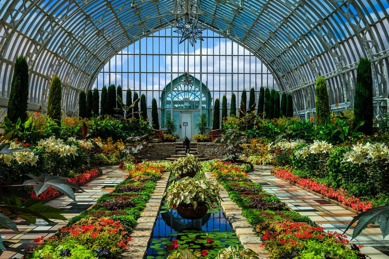 Como Conservatory Sunken Garden - St. Paul, MN