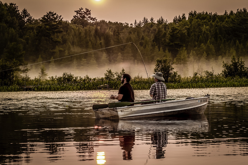 Fishing and Whistling #1 - Spooner, WI