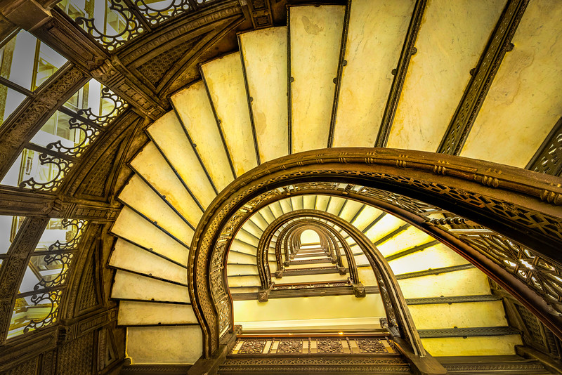 Rookery Staircase – Chicago, IL