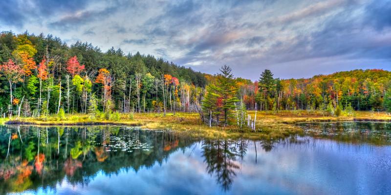 Red Jack Lake (Pano) - Hiawatha National Forest, MI