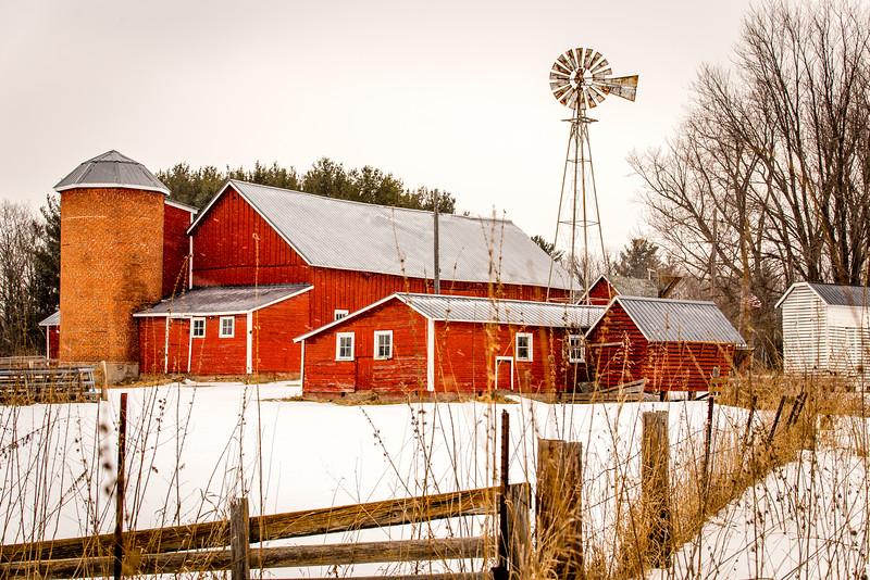 Herberg Century Farm - Shafer, MN