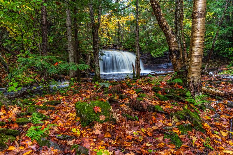 Rock River Falls #3 - Rock River Canyon Wilderness, Alger, MI