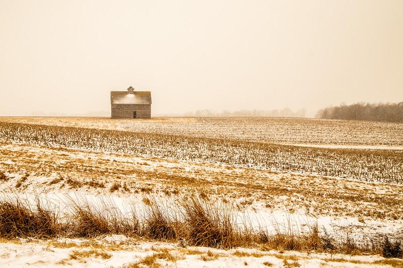 Iowa Barn - South of Iowa City