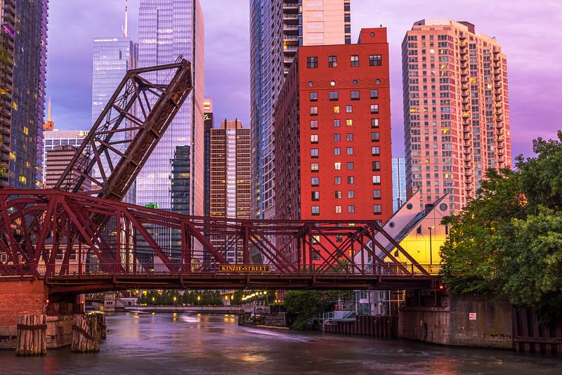 Kinzie Railroad Bridge – Chicago, IL