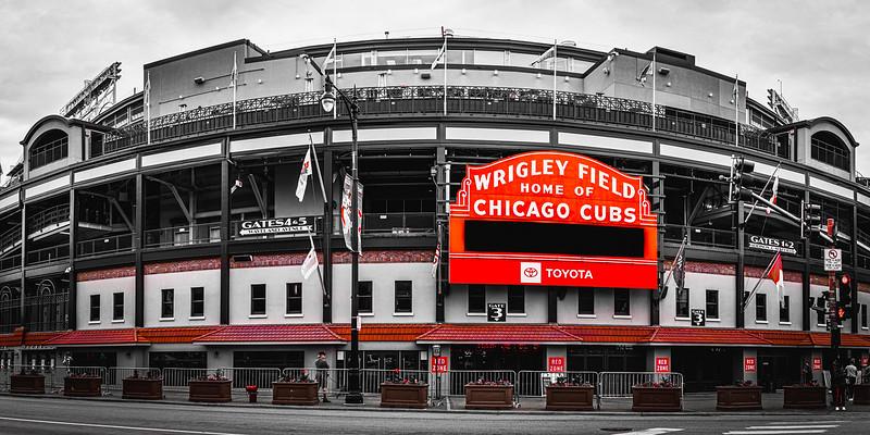 Wrigley Field (Pano) – Chicago, IL