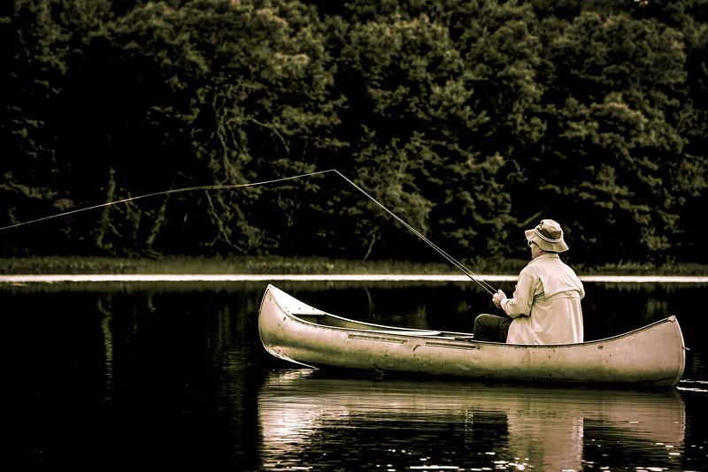 Canoe Solitude - NW Wisconsin
