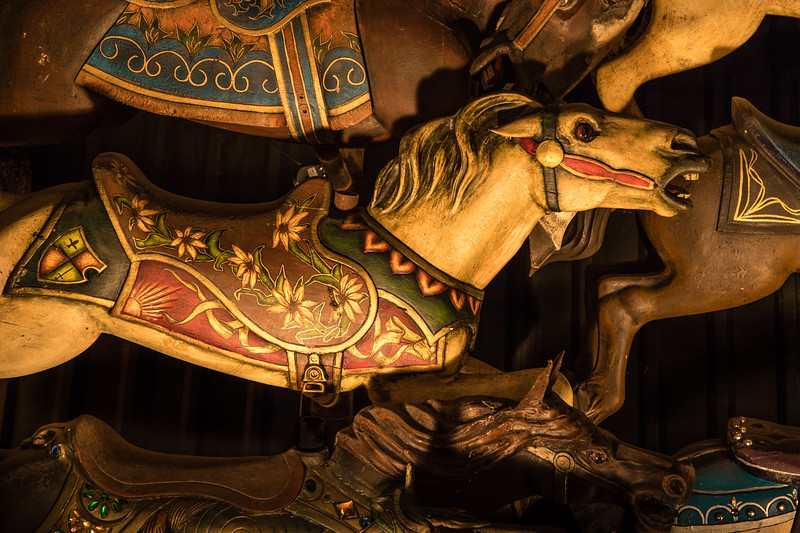 Carousel Horses - The House on the Rock, Spring Green, WI