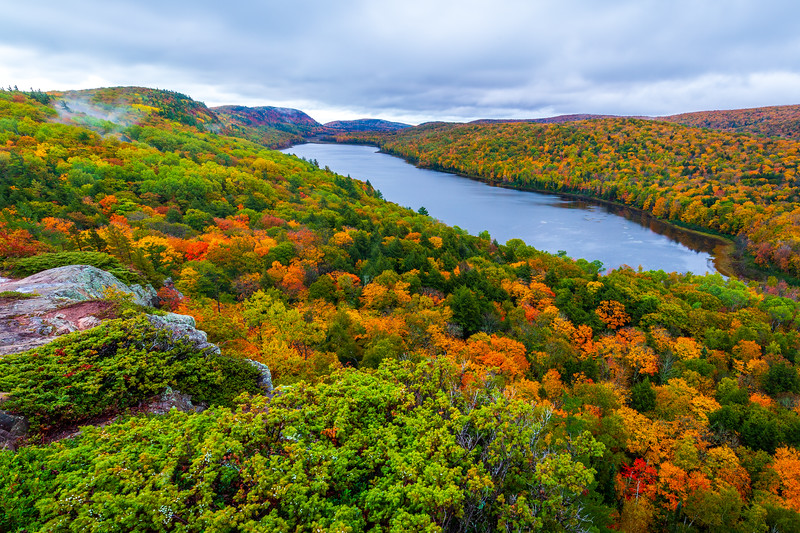Lake of the Clouds - Porcupine Mountains Wilderness State Park, Ontonagon County, MI