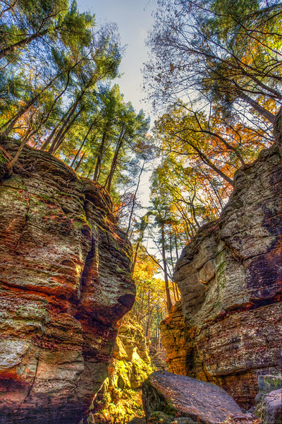 Parfrey's Glen State Natural Area - Merrimac, WI