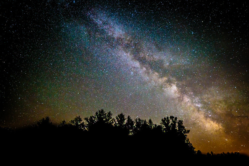 Milky Way - Crex Meadows Wildlife Area, Grantsburg, WI
