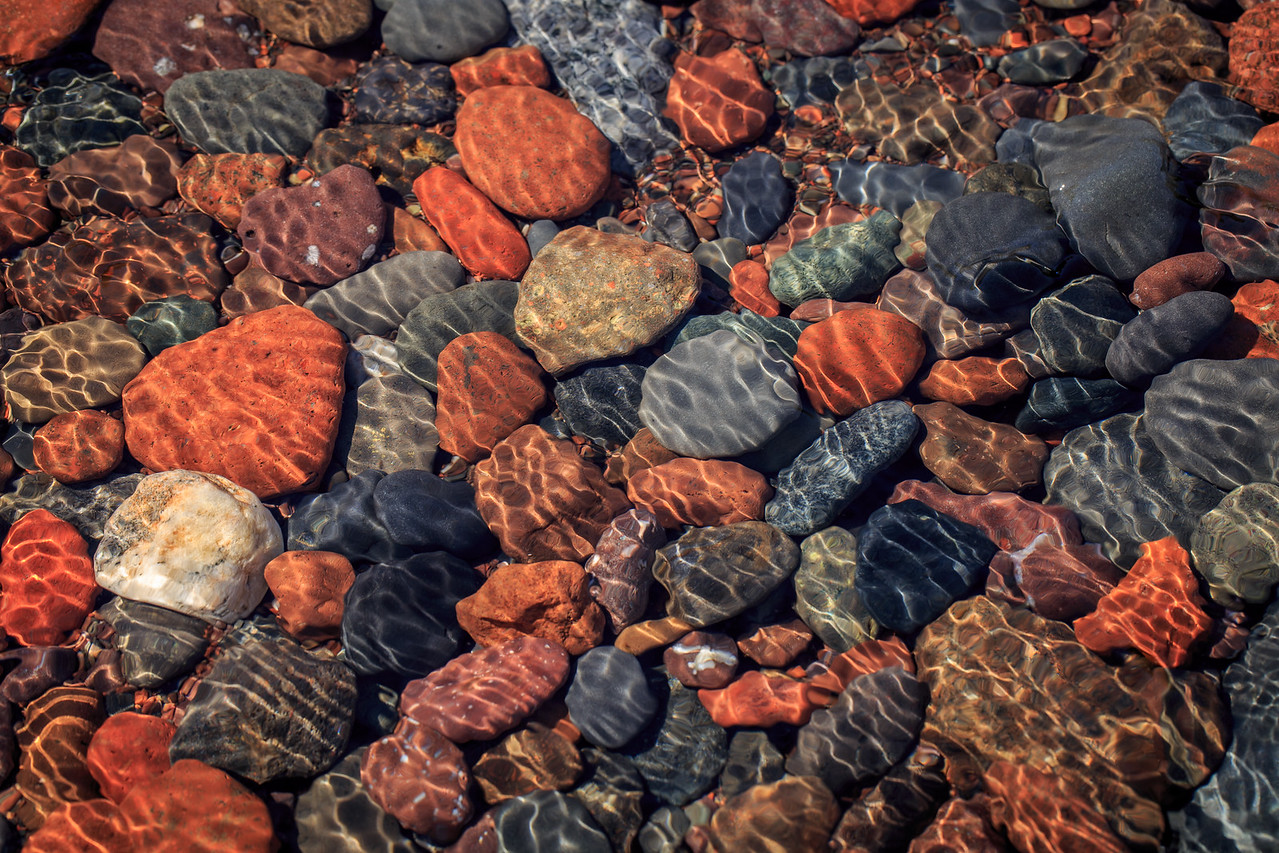 Lake Superior Stones (Horizontal) - Tofte, MN