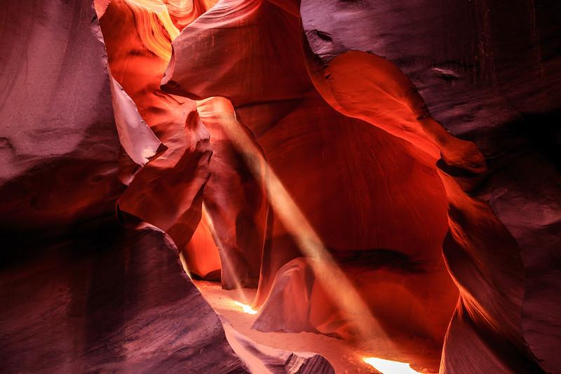 Lower  Antelope Canyon #8 - Navajo Land, Page, AZ