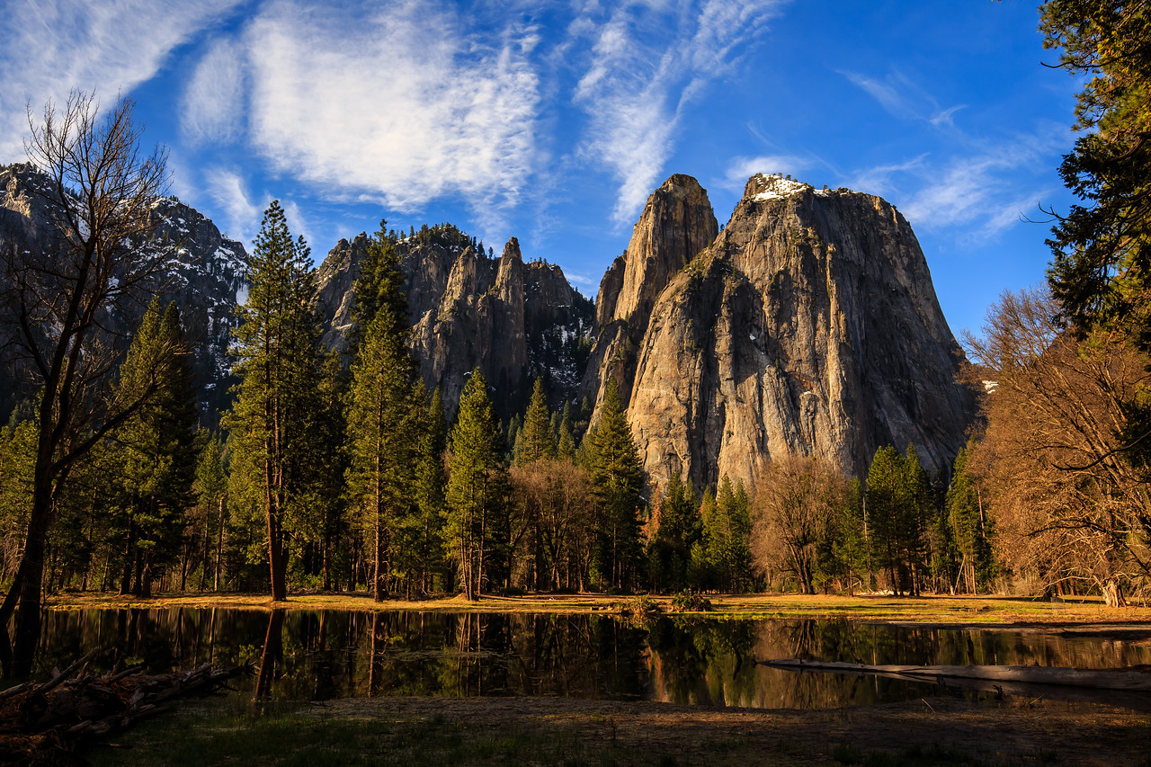Cathedral Spires - Yosemite National Park, CA