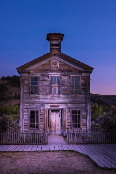 School House and Masonic Lodge – Bannack State Park, Dillion, MT