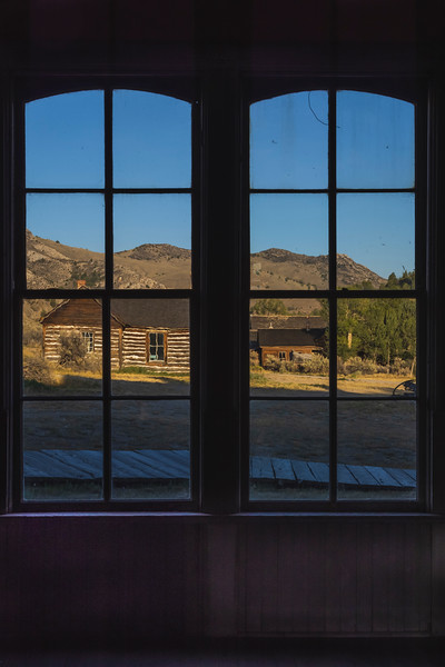 View from Hotel Meade – Bannack State Park, Dillion, MT