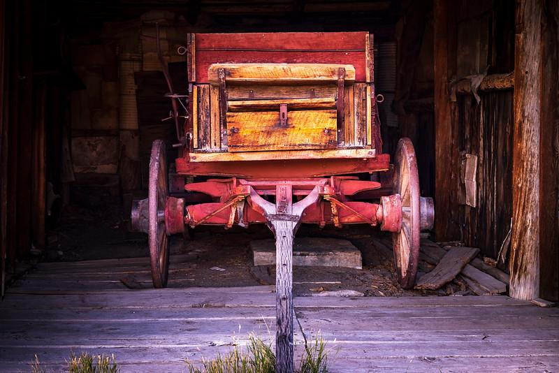 Horse Drawn Wagon – Bannack State Park, Dillion, MT