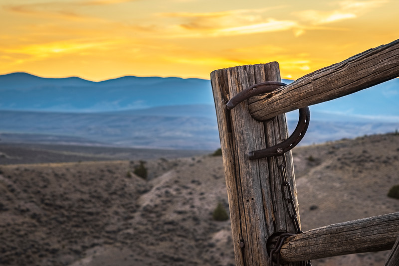 View from Cemetery – Bannack State Park, Dillion, MT