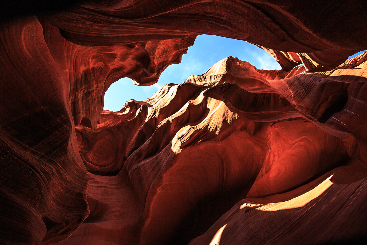 Lower  Antelope Canyon #3 - Navajo Land, Page, AZ