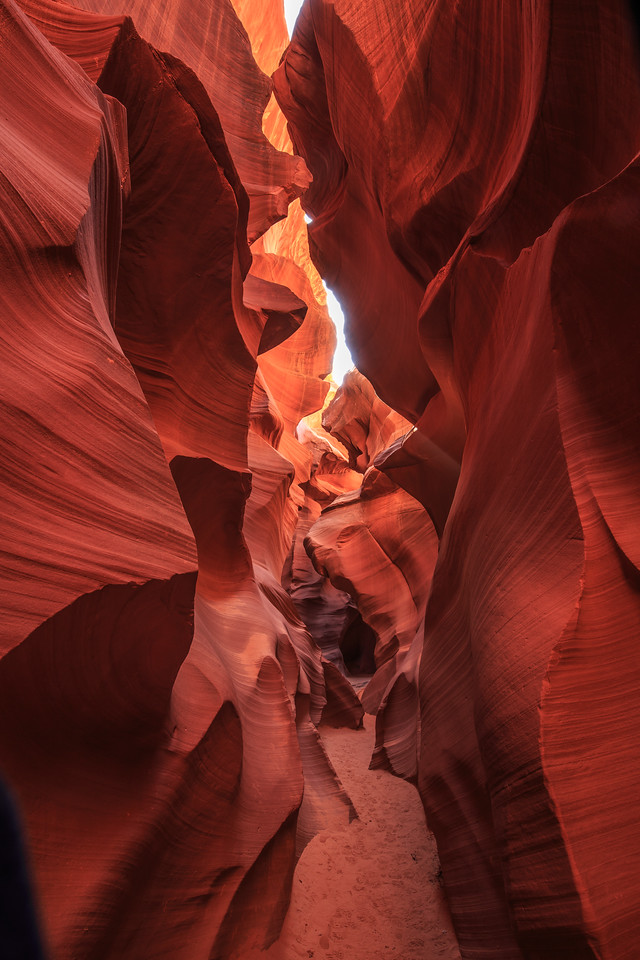 Lower  Antelope Canyon #6 - Navajo Land, Page, AZ