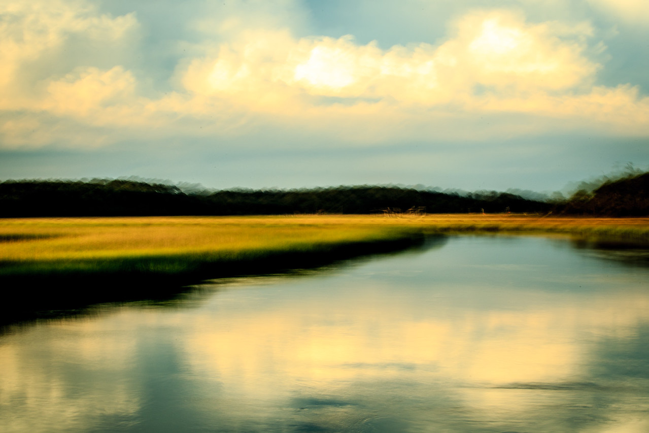 Salt Marsh Abstract #2 - Edisto Island, SC