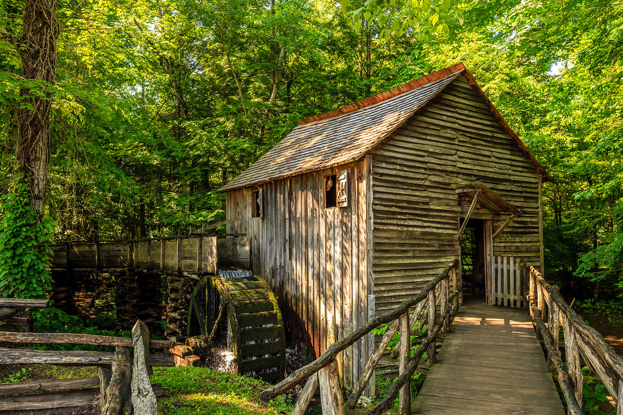 Cable Mill in Cades Cove - Smoky Mountain National Park, TN