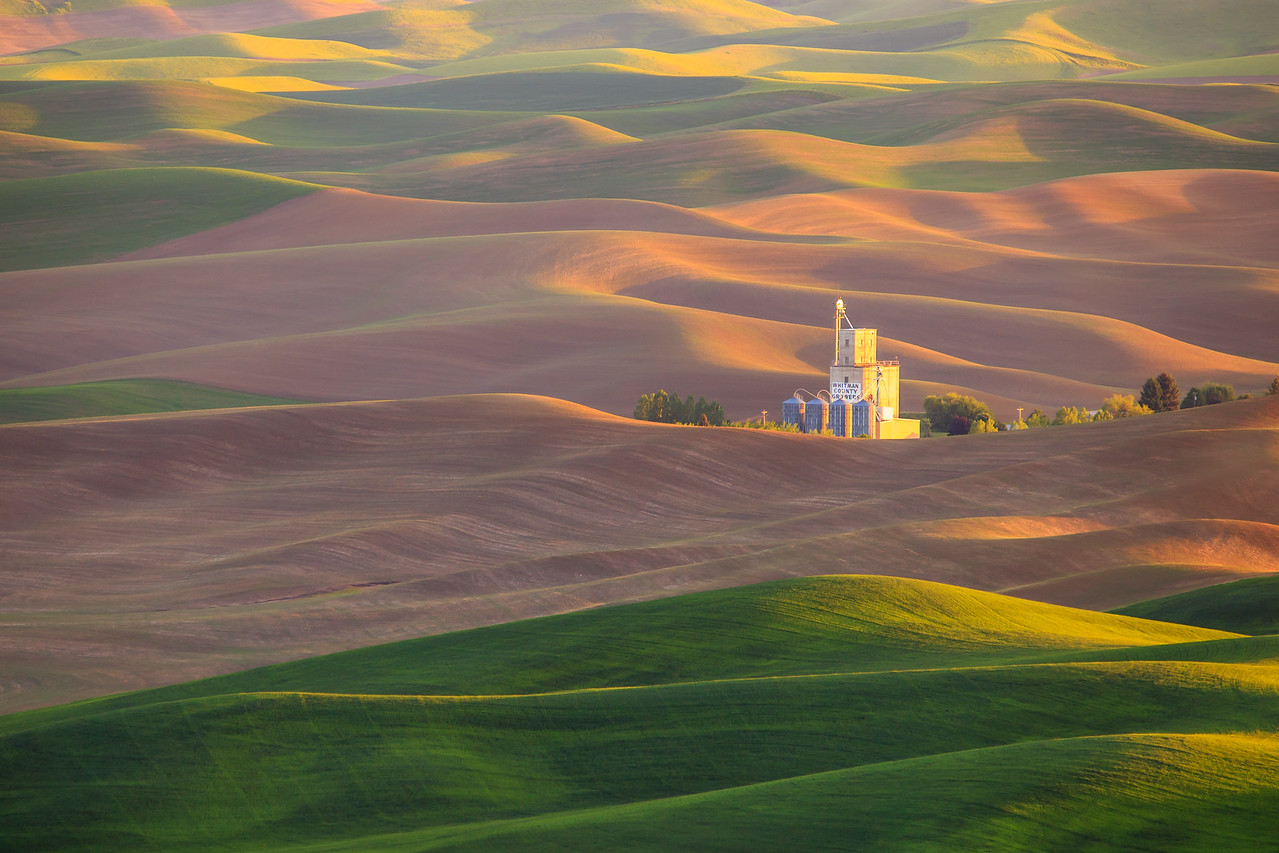 Palouse Grain Elevator - Eastern Washington