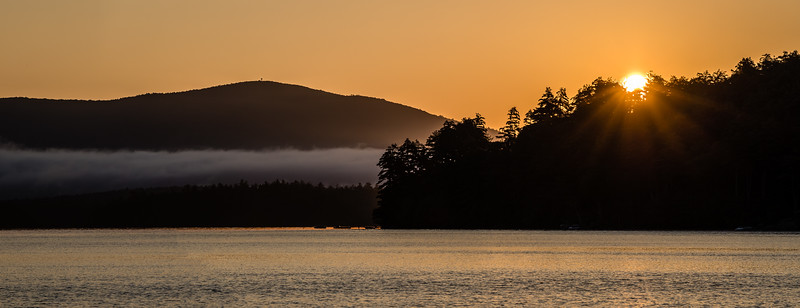 Squam Lake Pano - Squam Lake, NY