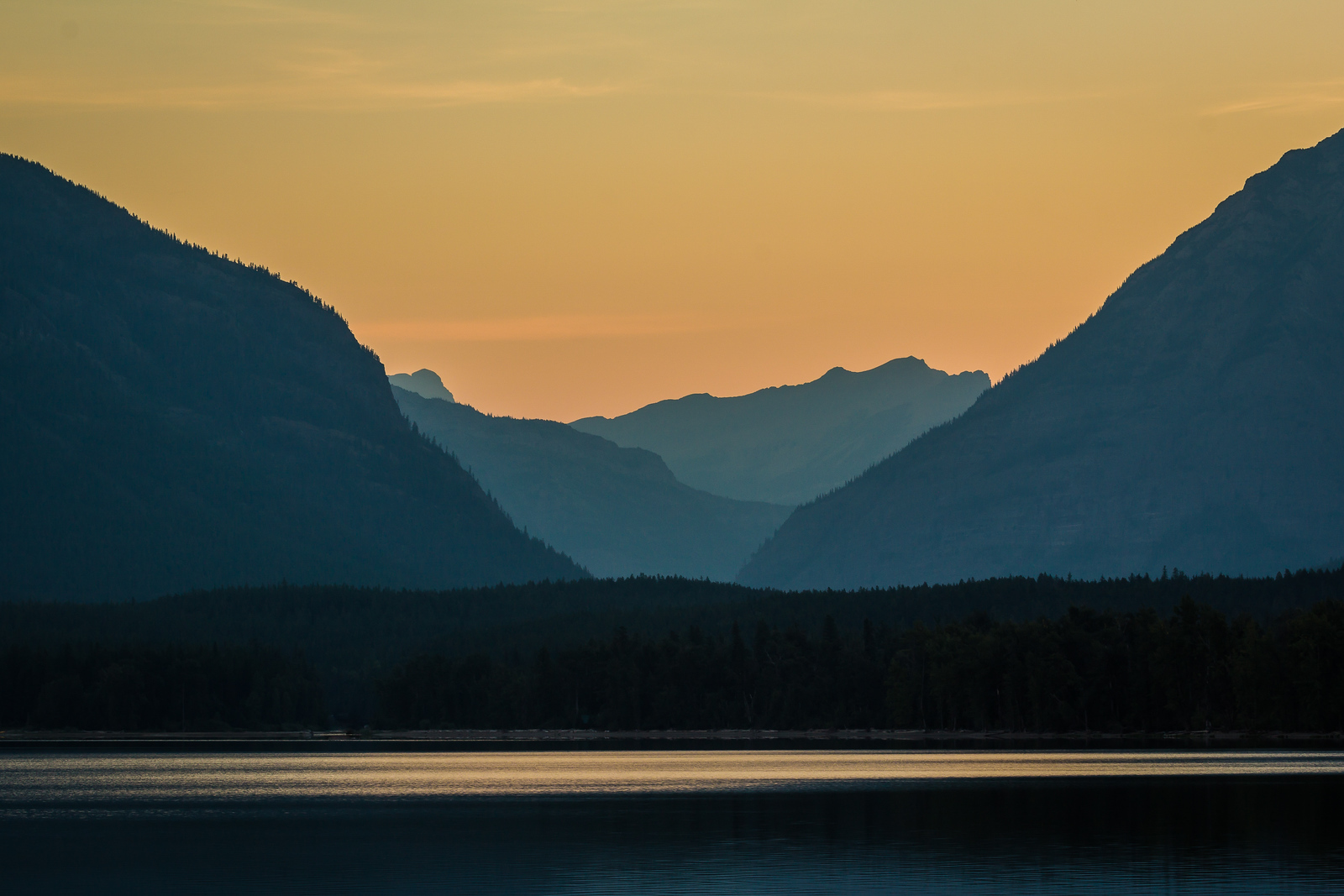 Sunrise Over Lake McDonald - Glacier National Park