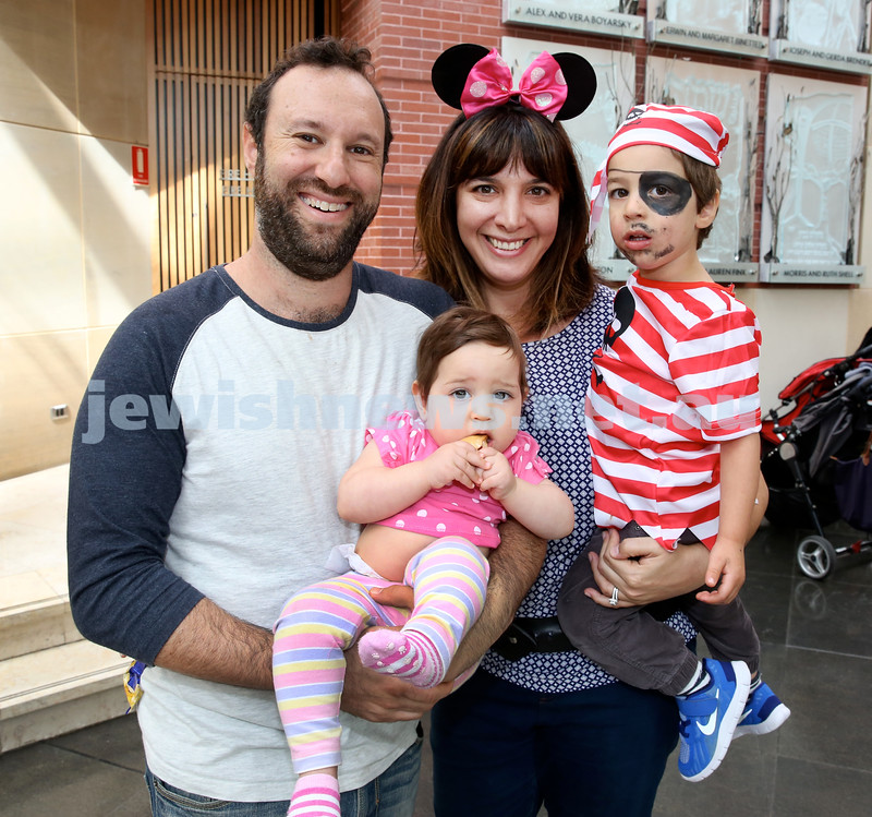 Central Synagogue's Disney themed Purim party. Pic Noel Kessel.