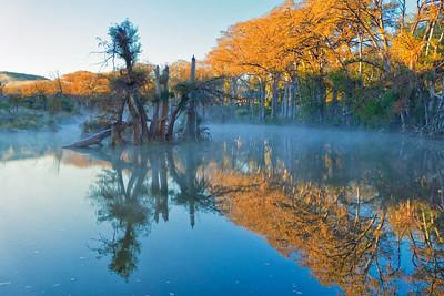 Blanco River at Sunrise