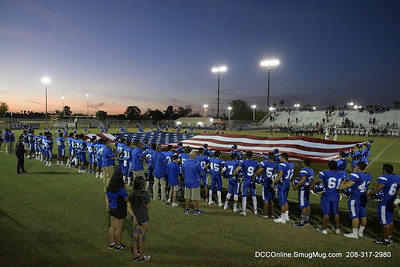 Central Union High School Football vs Calexico 2018