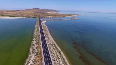 Antelope Island Causeway 1