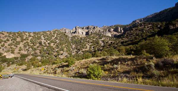 1 Cliffs above Rick's Spring